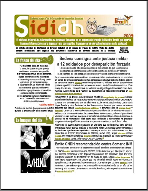 Miniatura del 11 de mayo de 2009